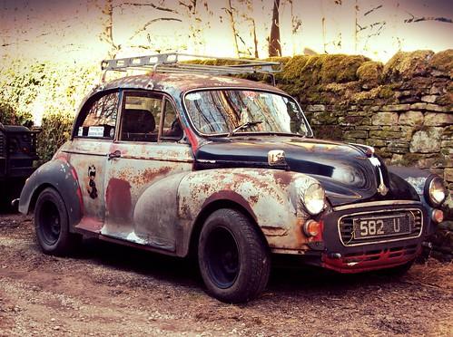 NOT an abandoned Morris Minor 1000 by davekpcv