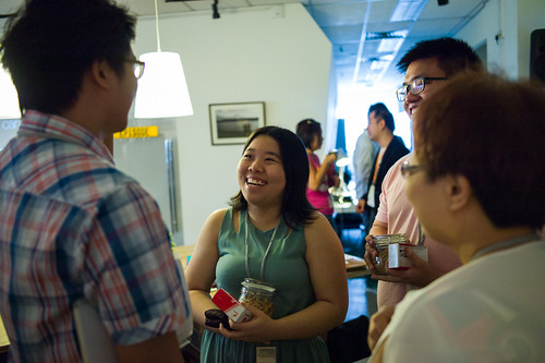 Speed networking session allows participants to meet many other entrepreneurs.