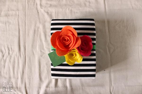 DIY Felt Flowers 5