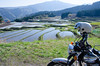 Photo:W650 and rice field By cotaro70s