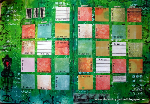 Art Journal - May ready to go