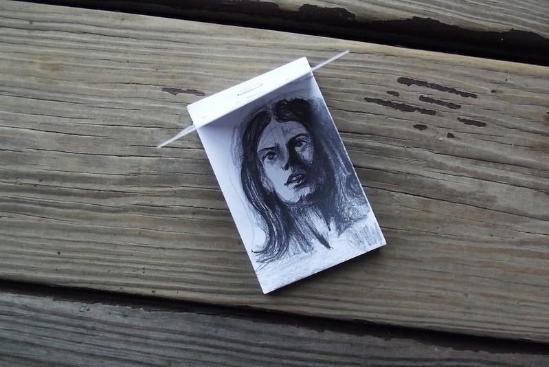 Mini sketchbook drawing