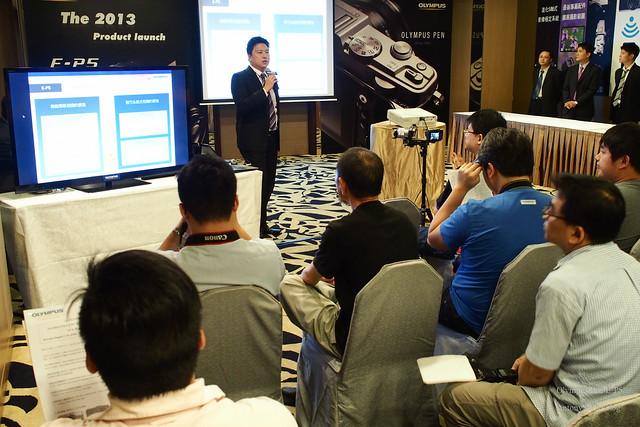 Olympus Pen E-P5 新品發表會-3