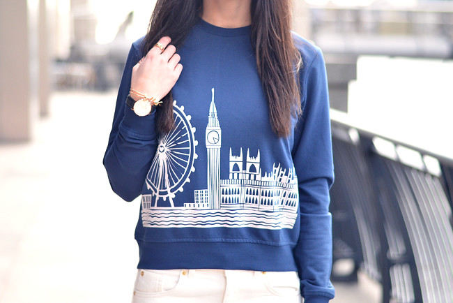 London sweater Miista shoes 4
