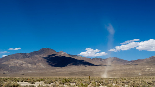 Dust devils in Owens Valley