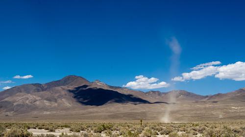 Dust devils in Owens Valley