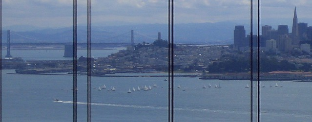 San Francisco through the Bridge