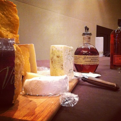 Bourbon and cheese tasting at Atlanta Food & Wine Festival