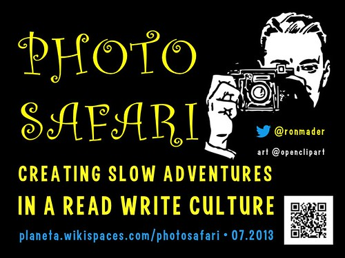 Photo Safari: Creating Slow Adventures in a Read, Write Culture