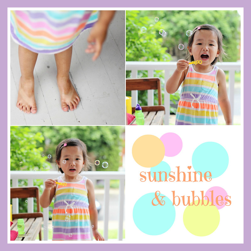 sunshine & bubbles