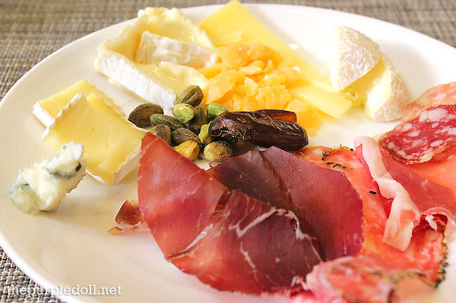 Cheeses and Coldcuts at Spiral Sofitel