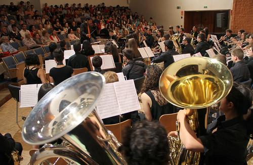 CONCIERTO FIESTA DE LA MÚSICA - BANDA DE MÚSICA JJMM-ULE - 23.06.13 by juanluisgx