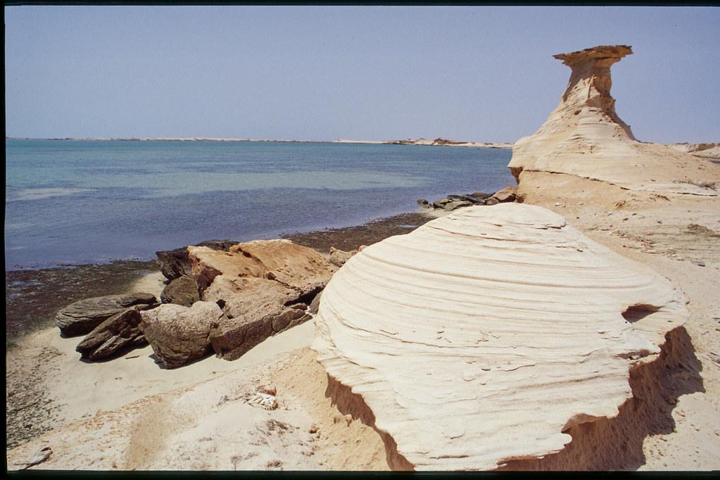 Mauritanie - Banc d'Arguin - Sculpture de sable et de vent