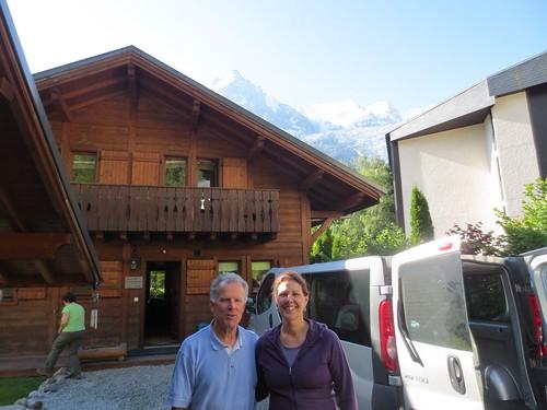Chamonix Valley, Chalet Chocolat, Friday, Courmayer, Italy