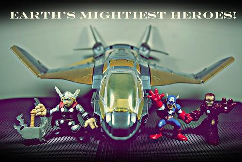 Superhero Squad Avengers!