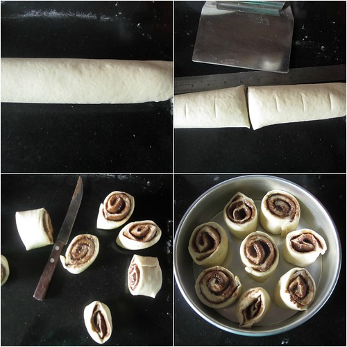 Nutella Pull-apart Rolls