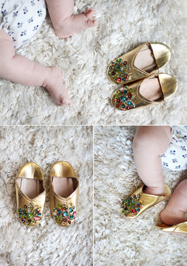 Baba Souk Baby Slippers
