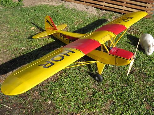 Repaginação de um Piper J-3 para um Neiva P56 C Paulistinha  9489236406_808c5b9665