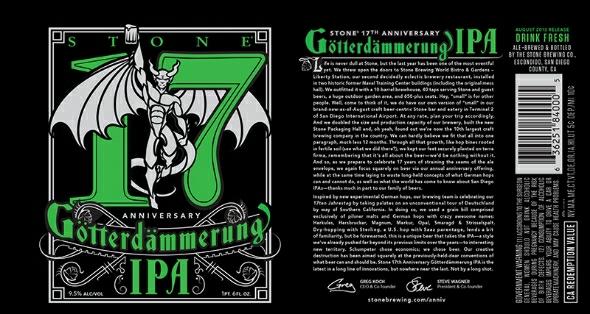 Stone 17th Anniversary Götterdämmerung IPA
