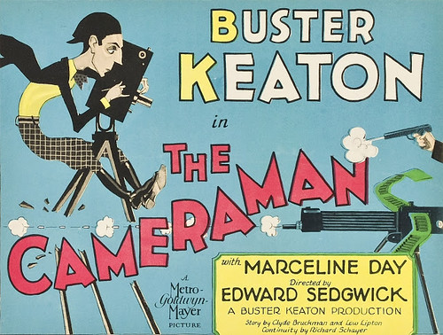 The Cameraman by Buster Keaton