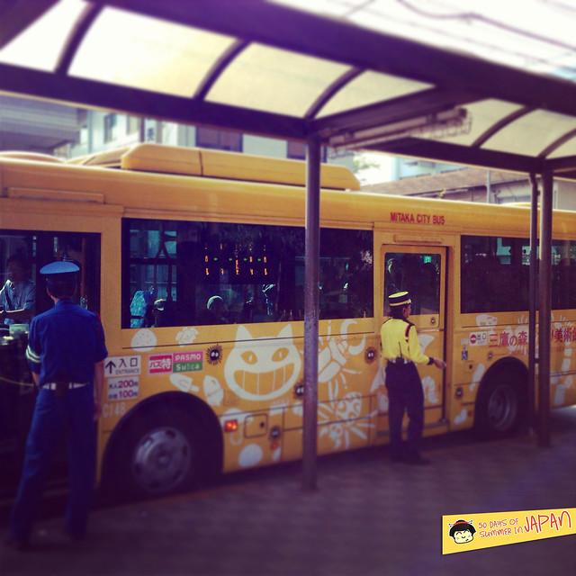 Ghibli Museum Japan - bus