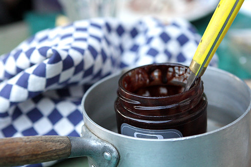 salted butter chocolate sauce