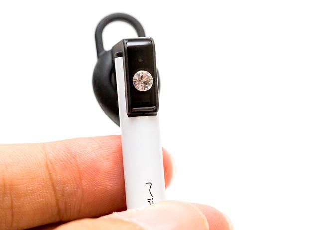 水鑽華麗 MiPOW LUZ 100 藍牙耳機開箱 @3C 達人廖阿輝