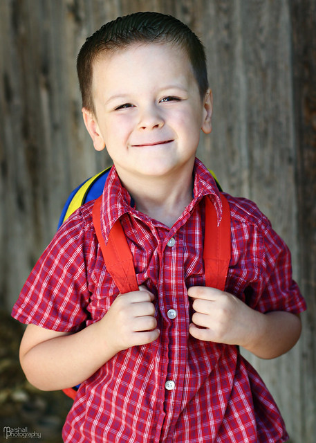 Rob's First Day of Kindergarten! - Twin Falls, Idaho - 2013