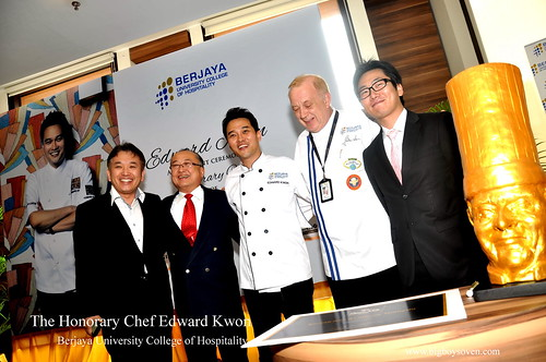 The Honorary Chef Edward Kwon of Berjaya University College of Hospitality 8