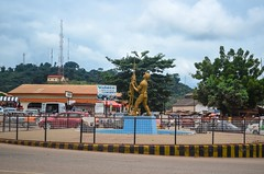 Obuasi, home of AngloGold Ashanti