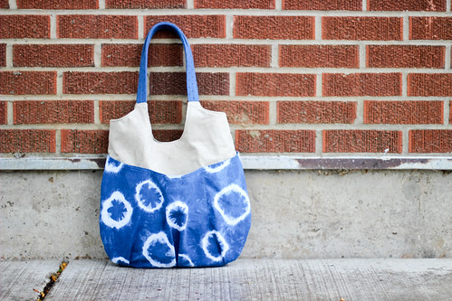 Indigo Go Anywhere Bag by Jeni Baker