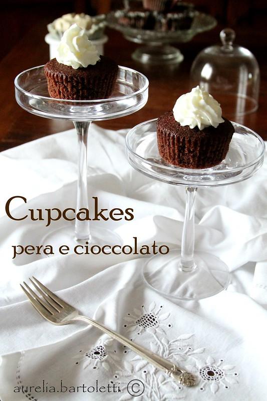 cupcake pera e cioccolato2