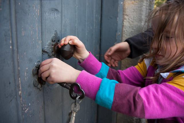 The key to the door