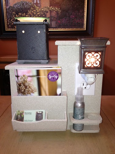 how to build a scentsy display box