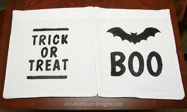 Pillowcase Halloween Bags 8