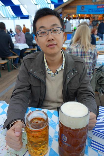 中央車站附近的啤酒活動