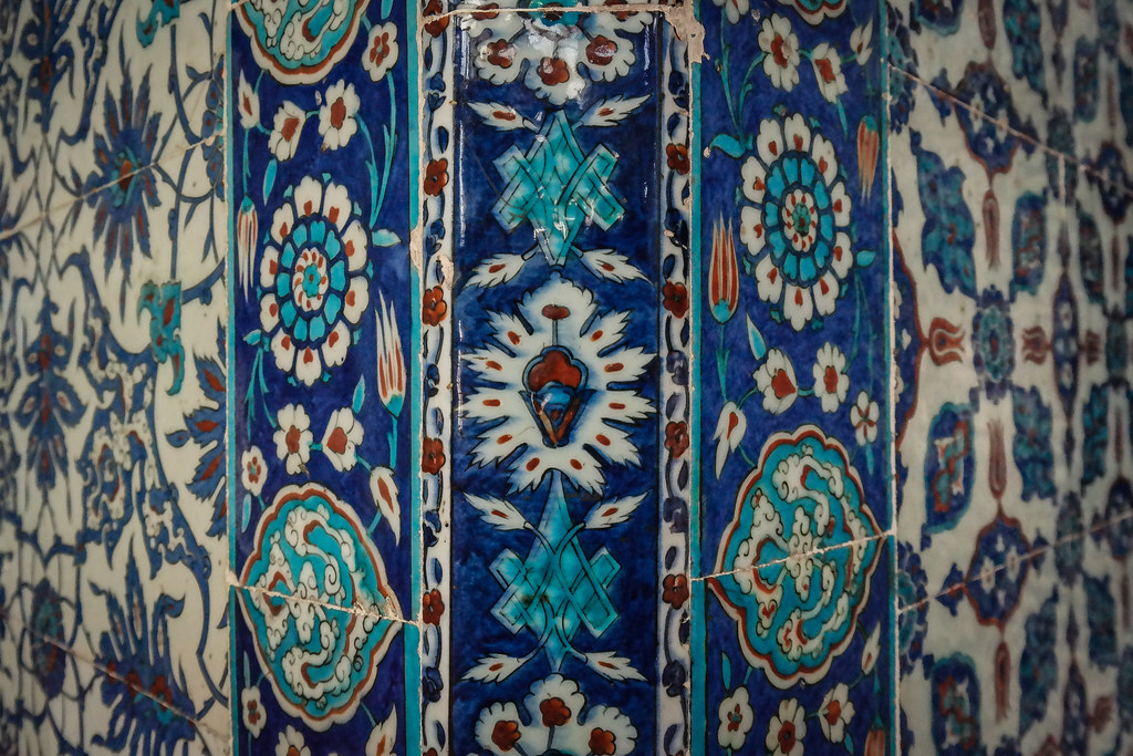 Rustem Pasha Mosque - Beautiful Blue Tiles