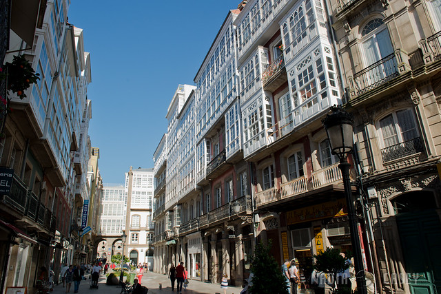 A Coruna Main Street Day