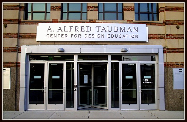 College for Creative Studies: Entrance, A. Alfred Taubman Center for Design Education--Detroit MI