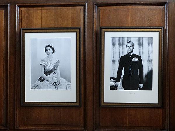 la reine et le prince