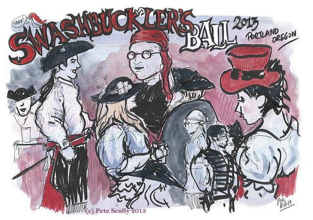 2013 swashbucklers ball, portland