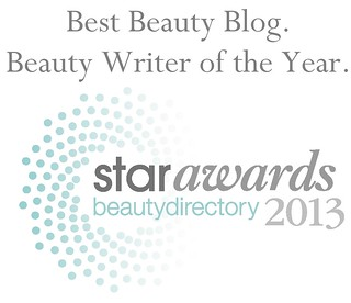 Fox in Flats Best Beauty Blog Beauty Writer of the Year 2013