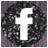 facebook black 48px
