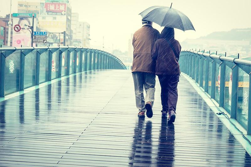 Photo:DSC069231_雨中相偎依 By:Li Jen Jian
