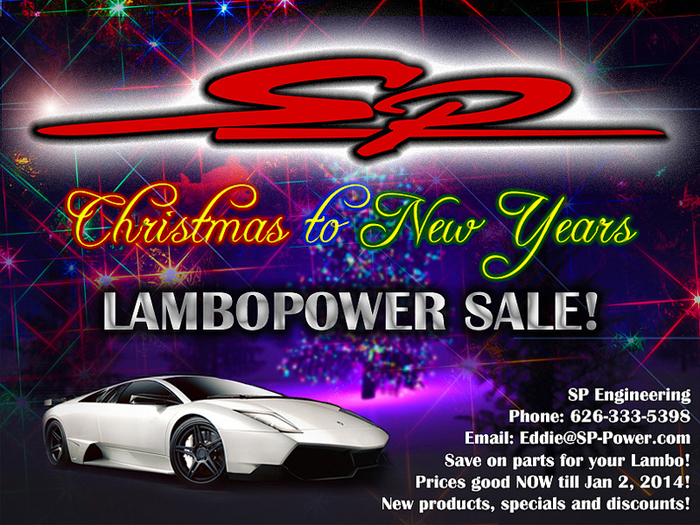 Xmas to New Years Sale: Lamborghini Edition