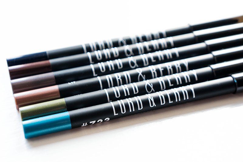 Lord & Berry Smudgeproof Eyeliner Collection | www.latenightnonsense.com