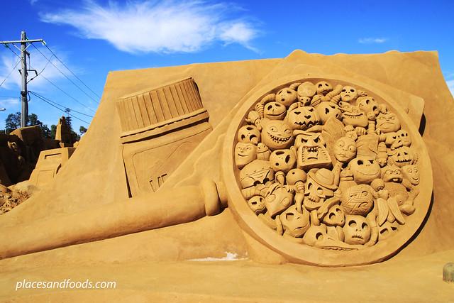 frankston sand sculpting microscope