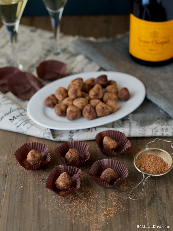 Raw Ginger Chocolate Truffles