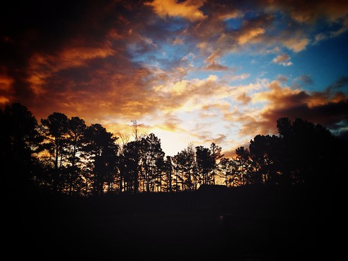 sunrise day cloudy rockymountnc