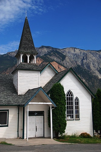 St. Andrews United and St. Marys Anglican Church, Lillooet, Cariboo, British Columbia